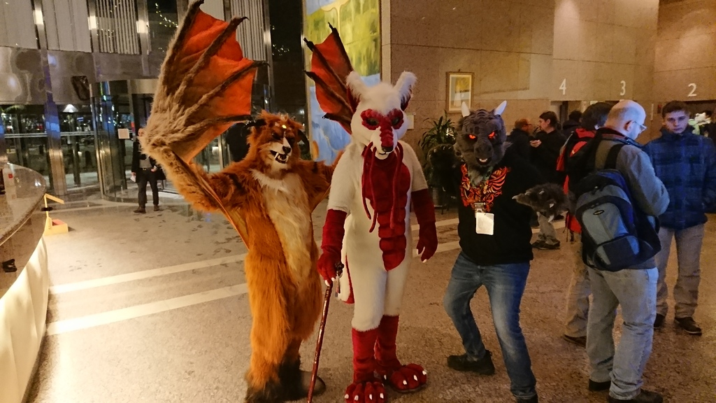 NFC 2018 05  a Demon and Two Dragons!