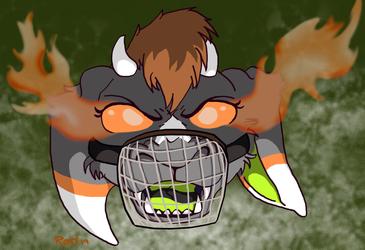 Pumpkin snarl (Muzzled)