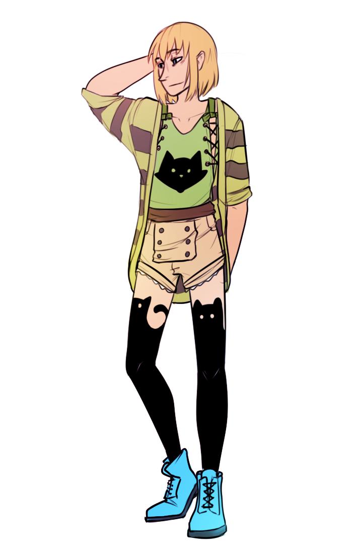 Armin In Cute Clothes Weasyl