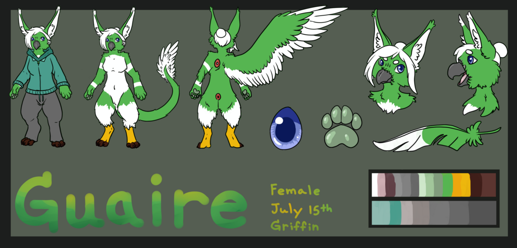 Most recent image: Guaire Reference Sheet