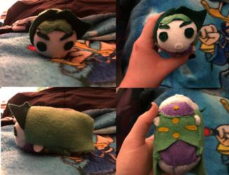 Jojo's Bizarre Adventure Rohan Kishibe Stacking Tsum Plush made for myself
