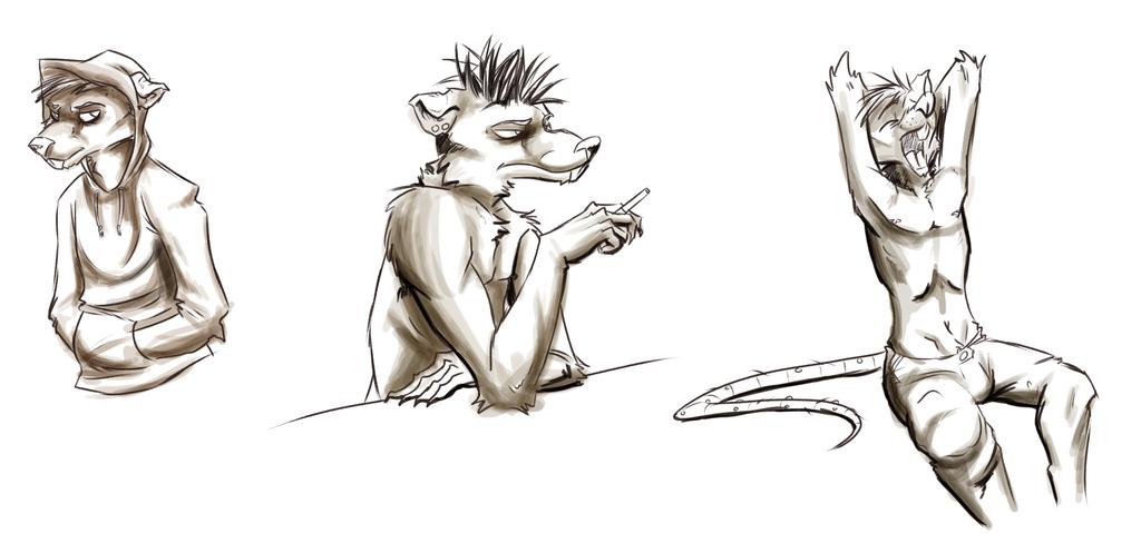 Most recent image: Vincent Doodles