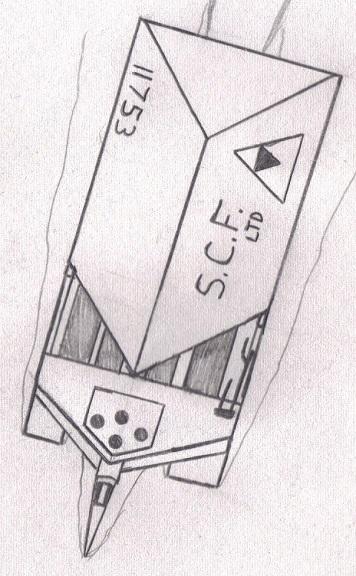 """DE """"Aqua II"""" Light Cargo Ship"""