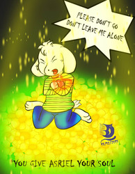 Undertale Asriel 2: Dont leave me