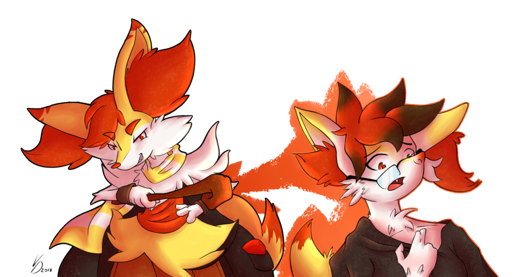 [Braixen TFTG] Sharing the Fire
