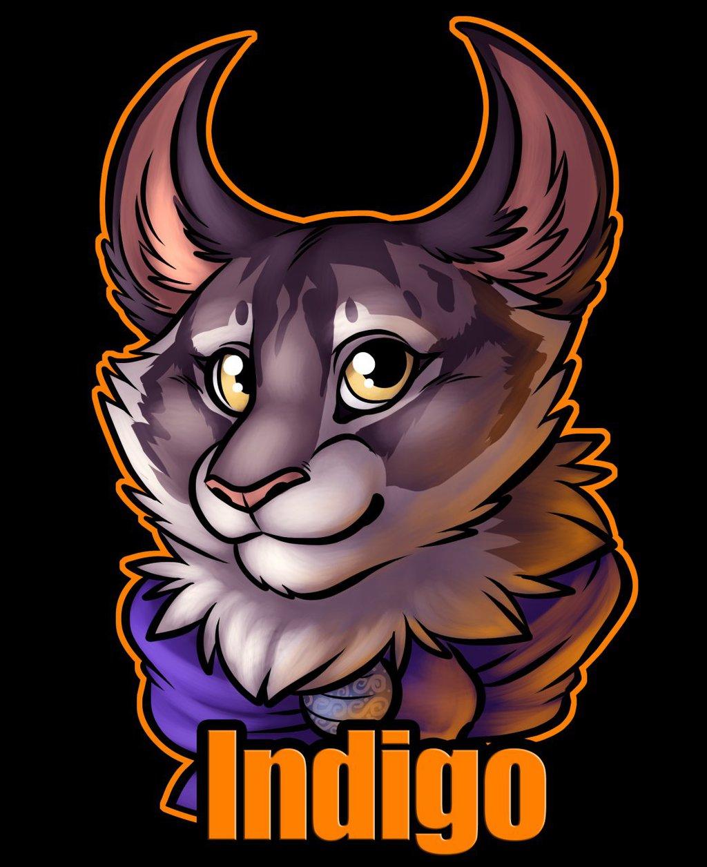 Badge: Indigo