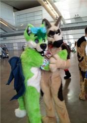 Duke and me at AC 2013!