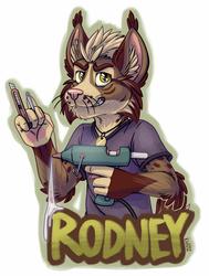 Rodney badge