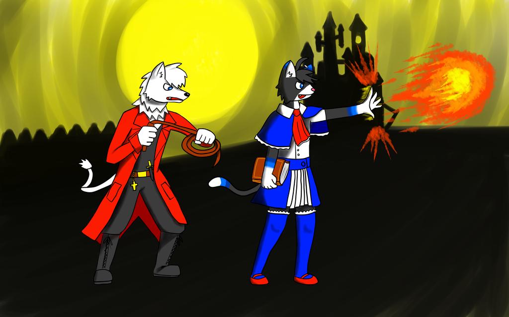 2013 Halloween: Gragos & Lucky, Vampire Hunters