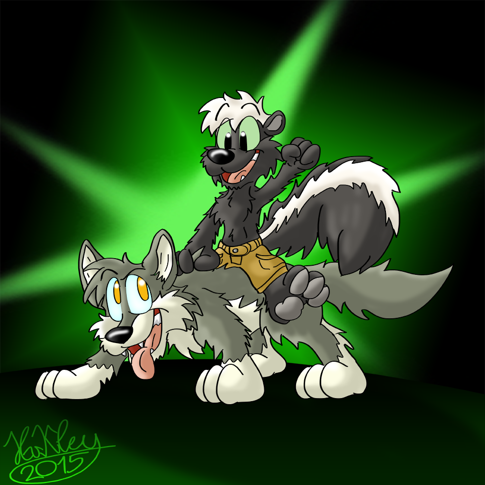 Timmie and Hugewolf
