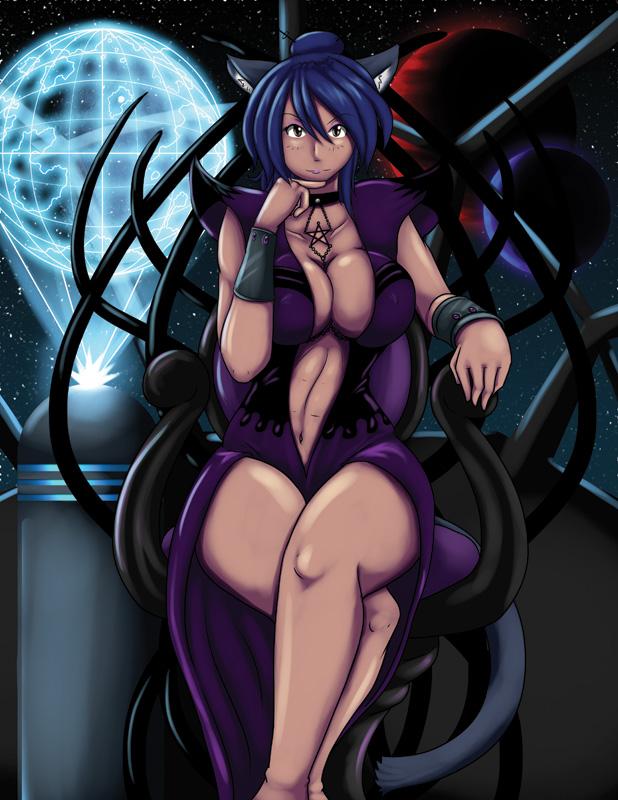 Nekocon 2012 - Space Empress Blue