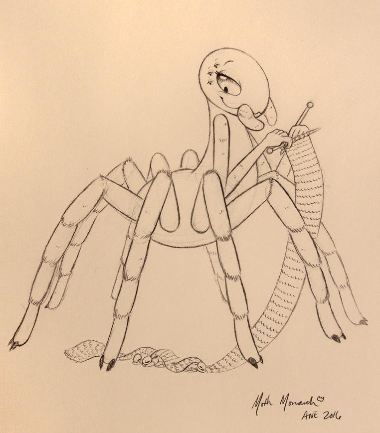Mamma Tarantula (ANE 2016 Sketch)