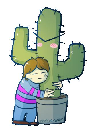 Tsundere cactus