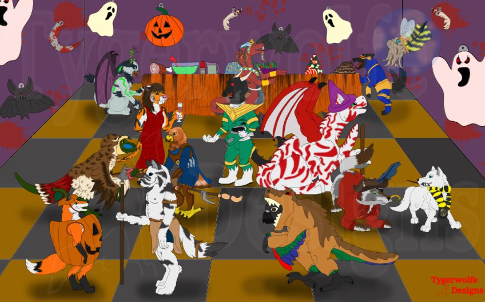 [PE] Patron Halloween Party 2017