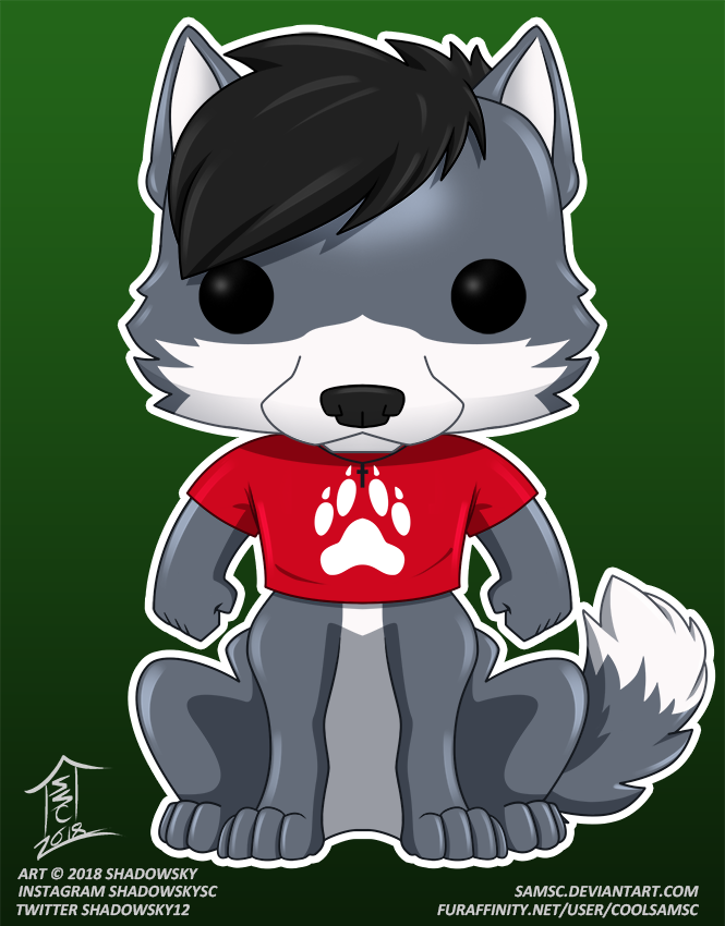 theredknight100 FunkoPOP commission