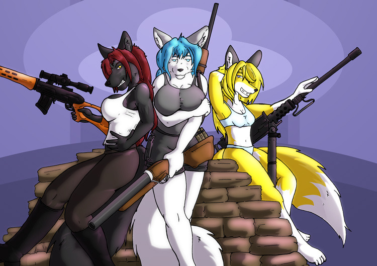 Gunvixens three.