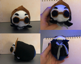 Good Omens Crowley Stacking Tsum Plush For Sale