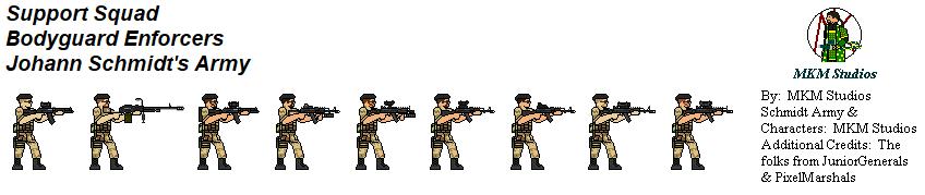 Schmidt Army Enforcer Support Squad