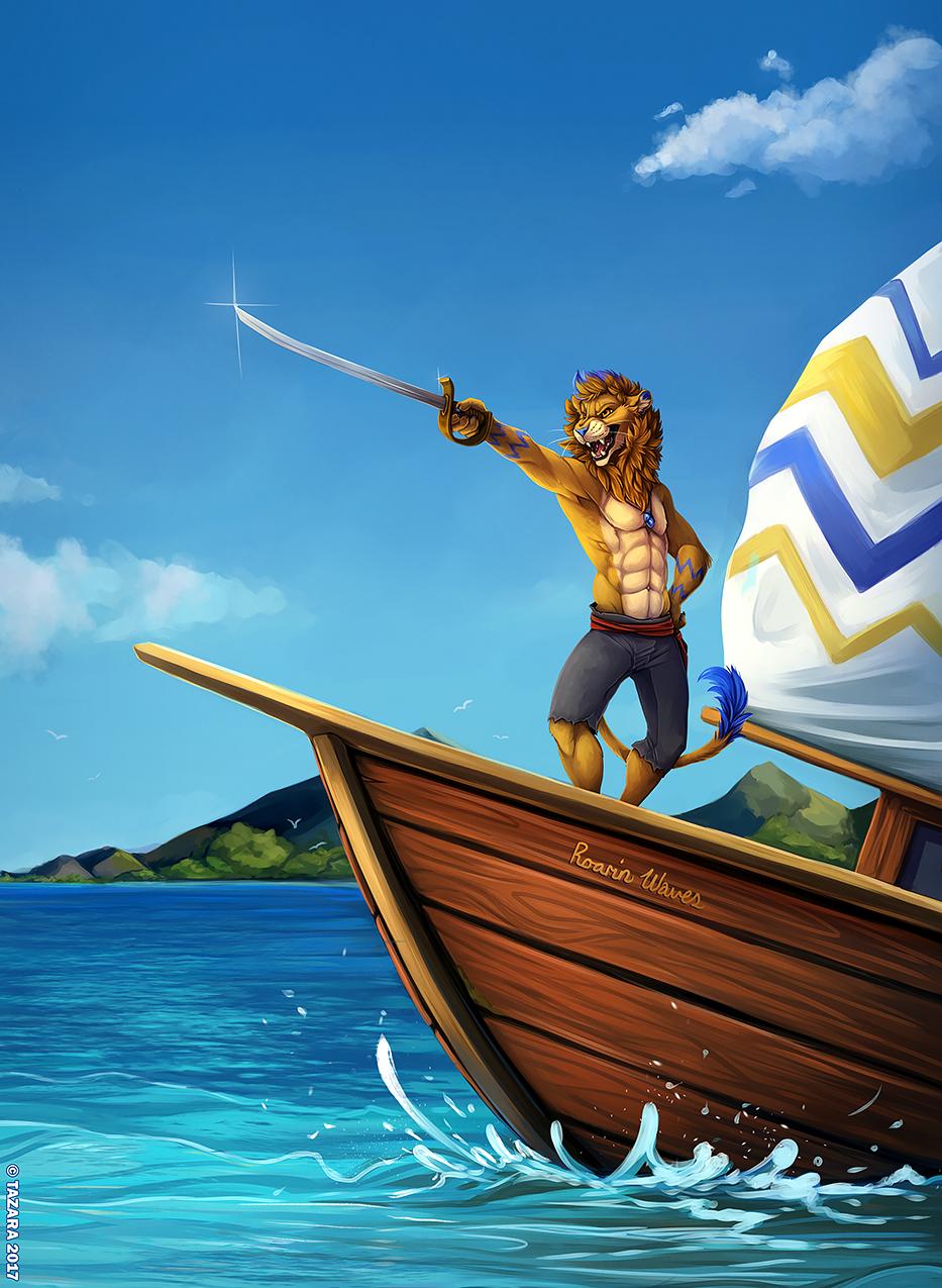 [COM] Roarin on the High Seas