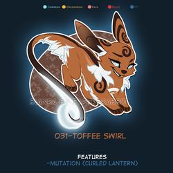 (Bianra) Toffee Swirl - CLOSED