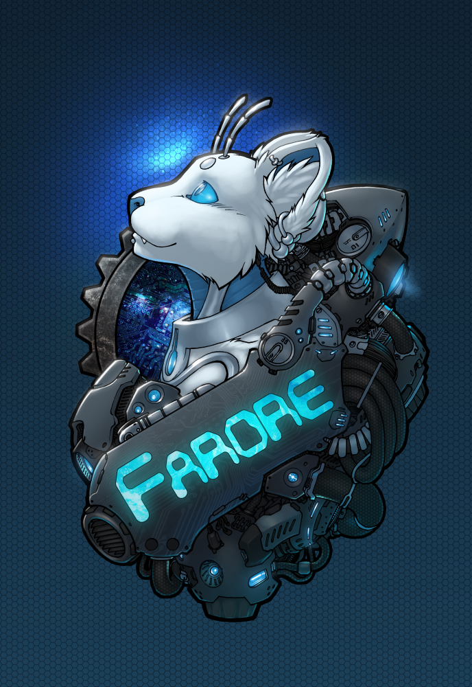 COMMISSION: Strype - Tech Badge
