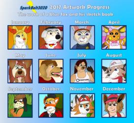 2017 Art Progress Sheet