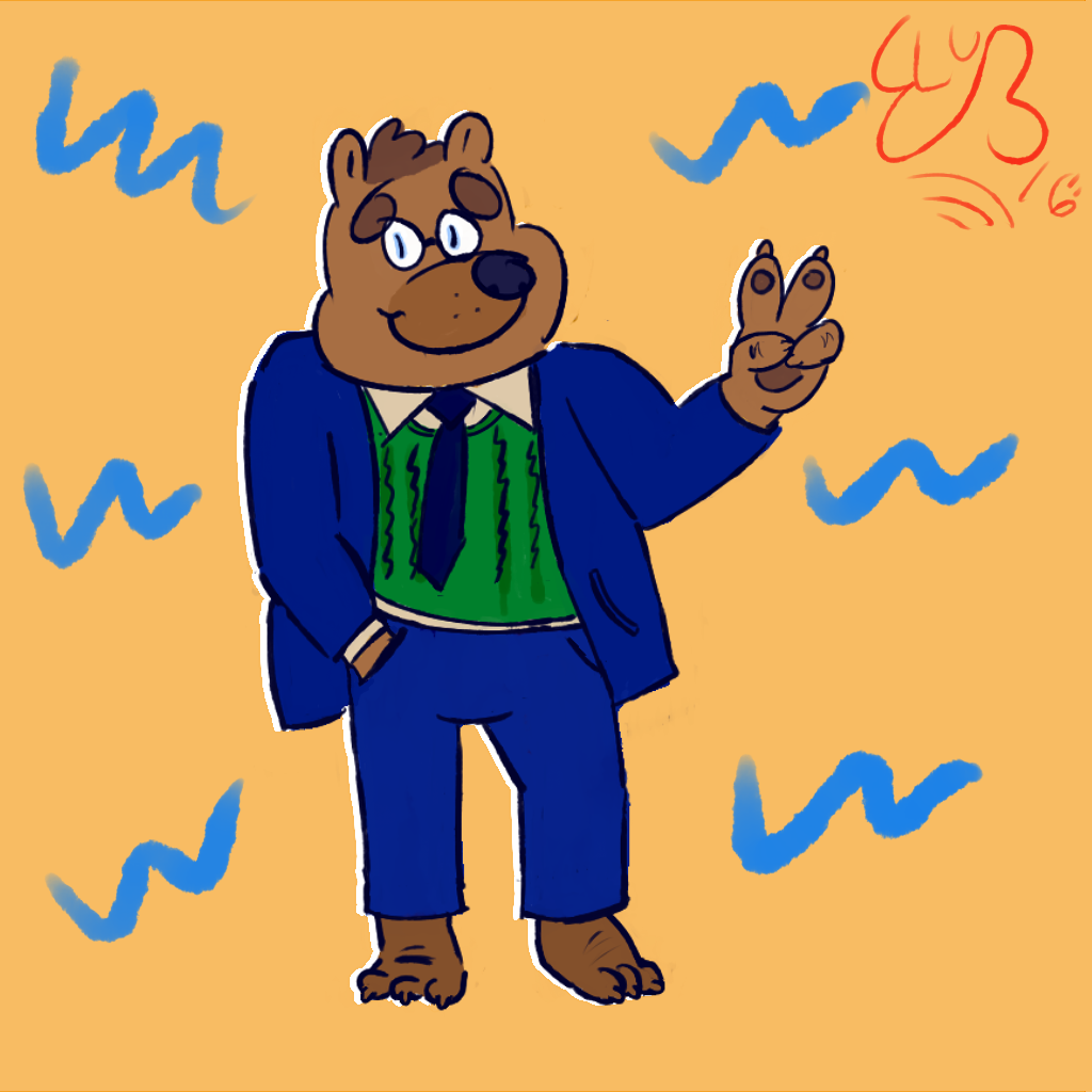 Most recent image: Dan the Business Bear