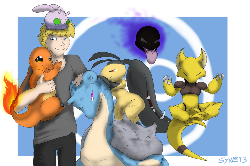 Most recent image: First evolution team