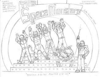 Meet The Space Monsters - Draft