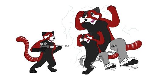 Red Panda Take Over