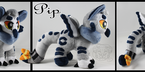 Comm: Pip the Snow Gryphon