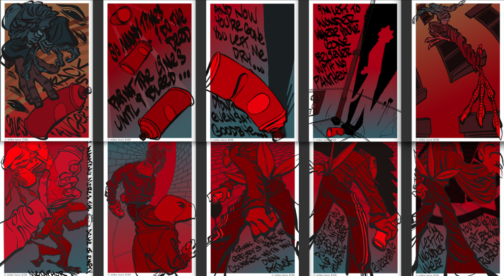 Most recent image: City Silent pages 68-77