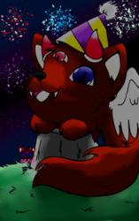 wabi's birthday fireworks
