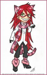 Chibi Cheshire Grell