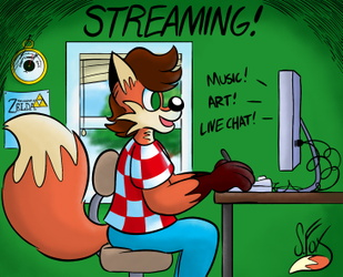 Tubular Fox Stream - ONLINE