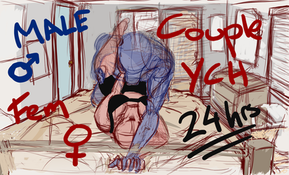 Couple YCH - 24hrs