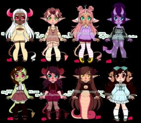 Monster Girls Set 12 OPEN