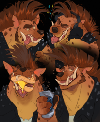 Roax-Treats Sketch Page