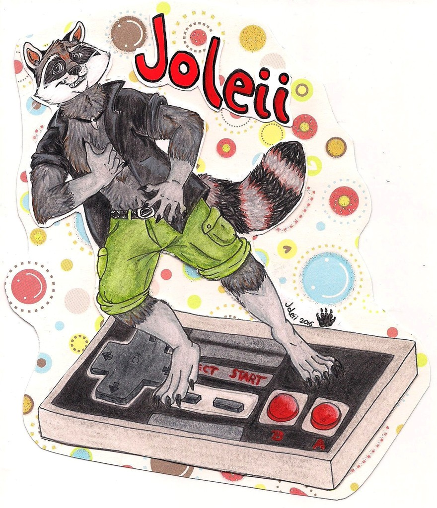 Surfin' NES - 80's Badge for Eurofurence 22