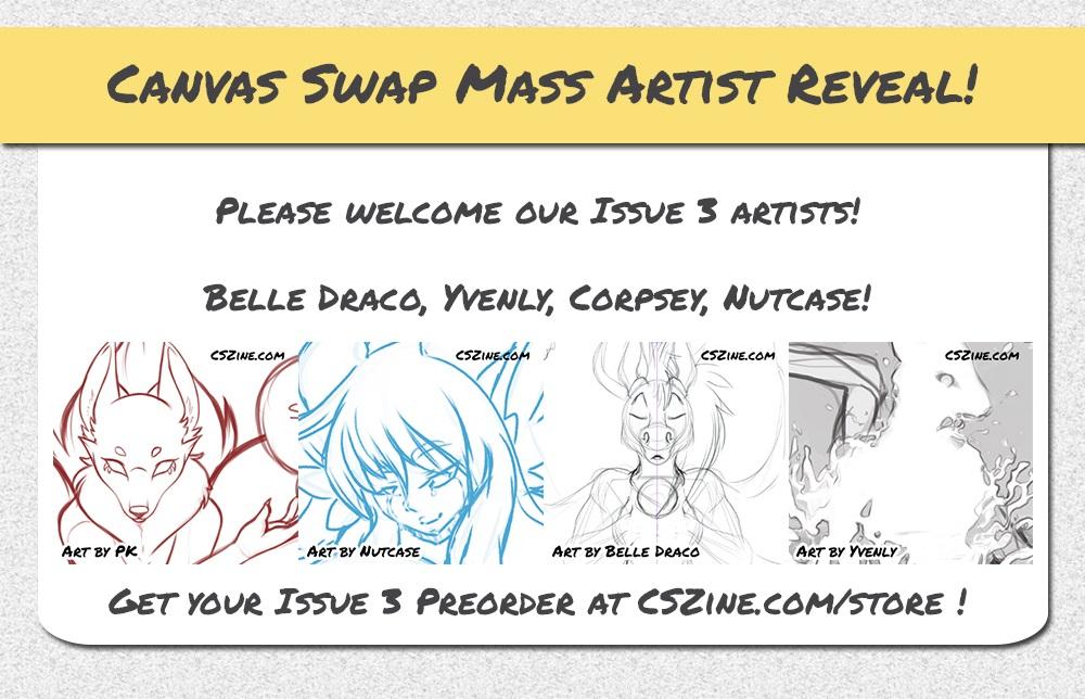 CSZ Mass Artist Reveal Issue 3