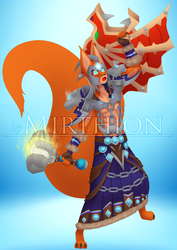 Commission for Squirrel Squad - Shaman 8/9