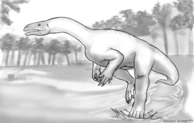 Dinovember - 9 - Plateosaurus