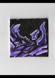 purple abstract auction ebay
