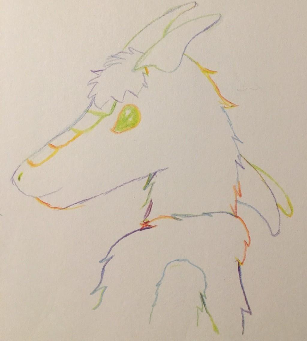 [My Art] Multicolored Pencil - Vissa