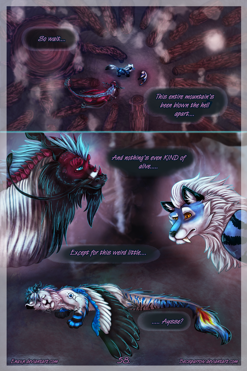 The Last Aysse: Page 58