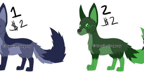 Adoptable Creatures Batch 2 OPEN