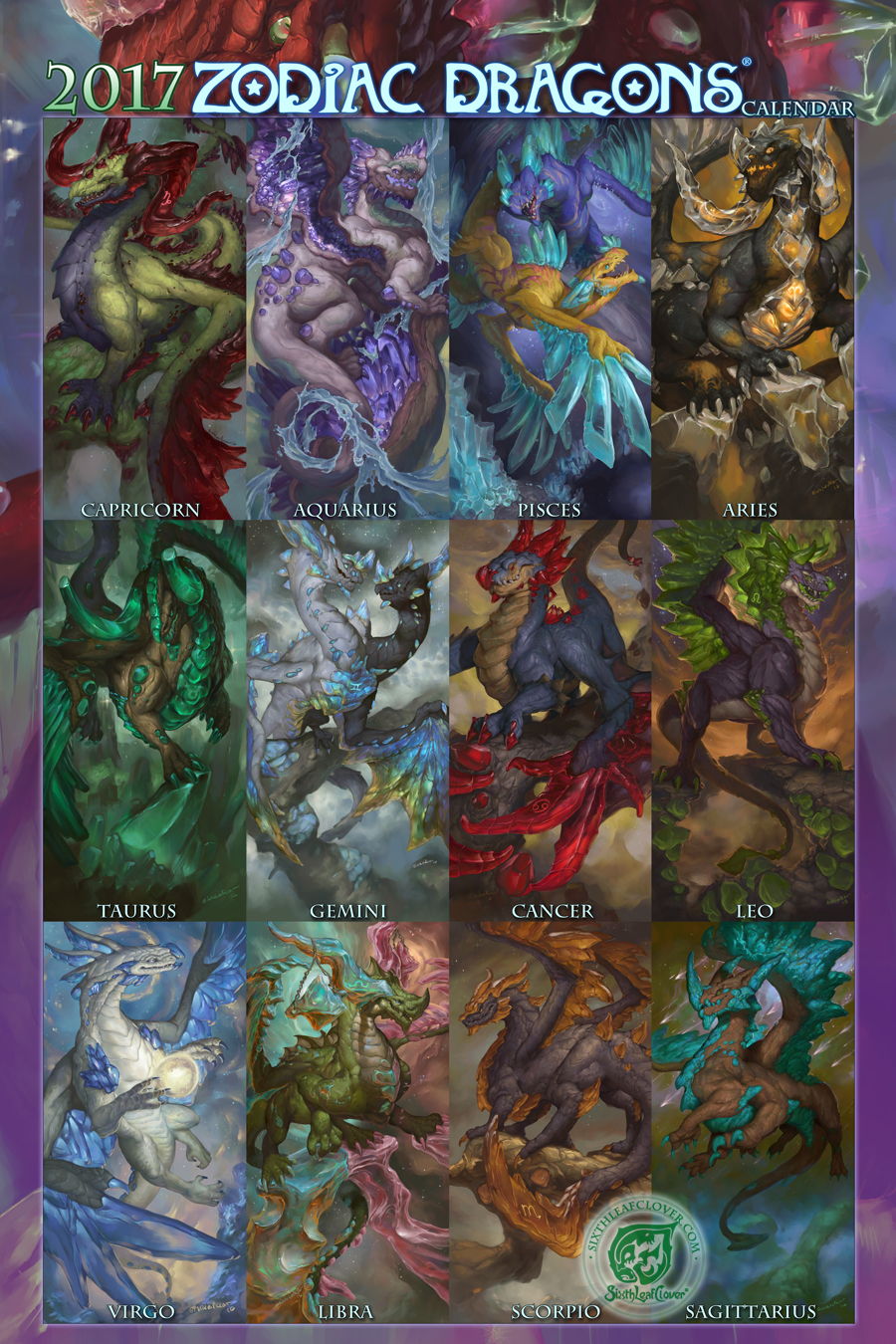 2017 Zodiac Dragons Collection