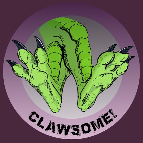 [Merch Design] Clawsome!