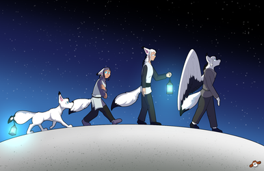 The Ascent of Fox by Reyn Goldfur (Present for Merlin)