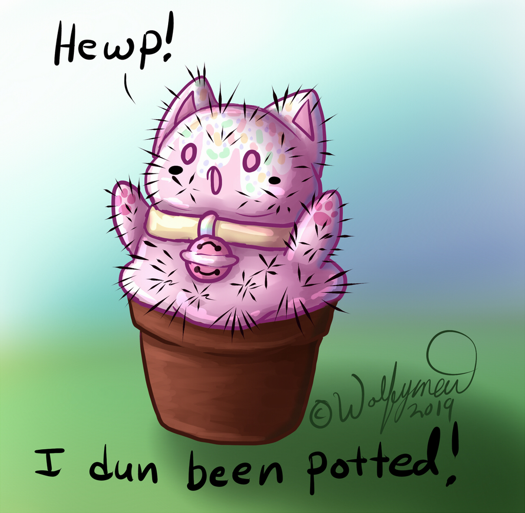 ppotted cattus
